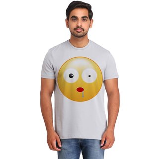 Snoby Shocked Smiley printed t-shirt (SBY16736)