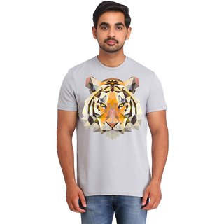 Snoby Tiger face printed t-shirt (SBY16617)