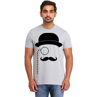 Snoby Moustache printed t-shirt (SBY16652)