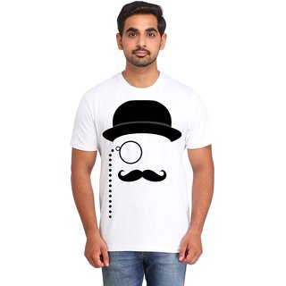 Snoby Moustache printed t-shirt (SBY16656)