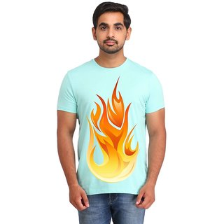 Snoby Fire printed t-shirt (SBY16679)