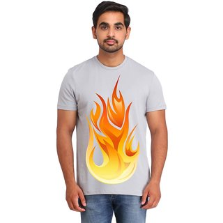 Snoby Fire printed t-shirt (SBY16680)