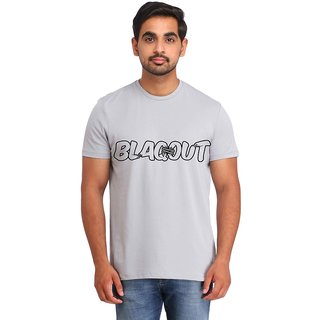 Snoby Blackout printed t-shirt (SBY16799)