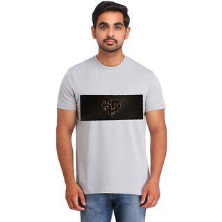 Snoby Black rectangle printed t-shirt (SBY16848)