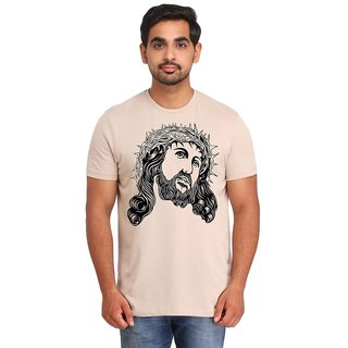 Snoby Warrior face printed t-shirt (SBY16933)