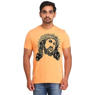 Snoby Warrior face printed t-shirt (SBY16934)