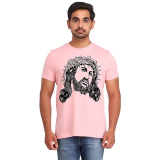Snoby Warrior face printed t-shirt (SBY16935)
