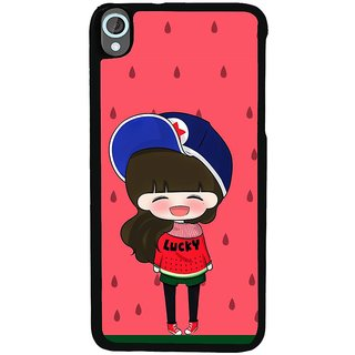 Ayaashii Girl Is Souting Loudly Back Case Cover for HTC Desire 820::HTC Desire 820Q::HTC Desire 820S