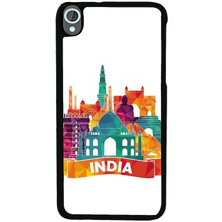 Ayaashii India Momentums Back Case Cover for HTC Desire 820::HTC Desire 820Q::HTC Desire 820S