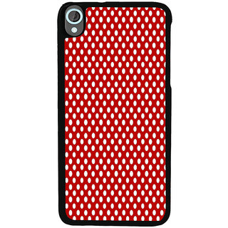 Ayaashii Red Dots Back Case Cover for HTC Desire 820::HTC Desire 820Q::HTC Desire 820S