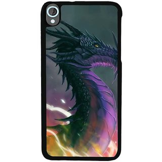 Ayaashii Animated Dragon Back Case Cover for HTC Desire 820::HTC Desire 820Q::HTC Desire 820S
