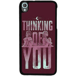 Ayaashii Thinking Of U Back Case Cover for HTC Desire 820::HTC Desire 820Q::HTC Desire 820S