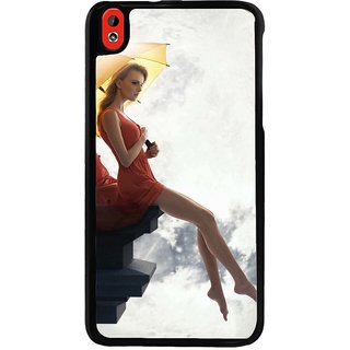 Ayaashii Girl In Front Of Moon Back Case Cover for HTC Desire 816::HTC Desire 816 G
