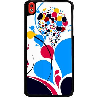 Ayaashii Colorful Ballons Pattern Back Case Cover for HTC Desire 816::HTC Desire 816 G