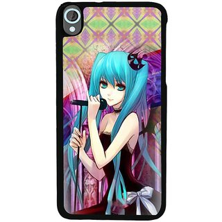 Ayaashii Girl Is Singing Back Case Cover for HTC Desire 820::HTC Desire 820Q::HTC Desire 820S