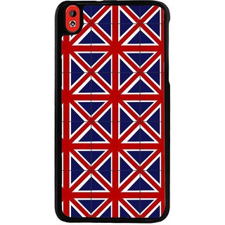 Ayaashii England Flag Pattern Back Case Cover for HTC Desire 816::HTC Desire 816 G