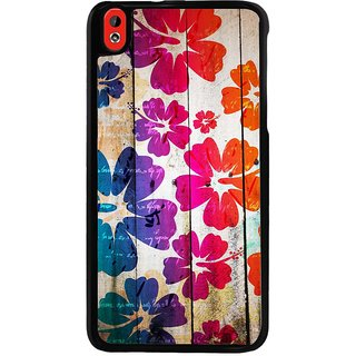Ayaashii Flower Pattern Back Case Cover for HTC Desire 816::HTC Desire 816 G