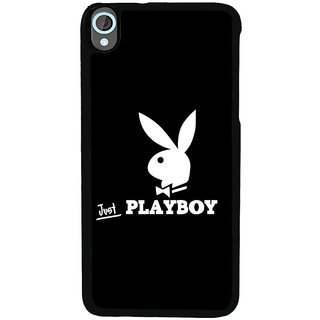 Ayaashii Just Playboy Back Case Cover for HTC Desire 820::HTC Desire 820Q::HTC Desire 820S
