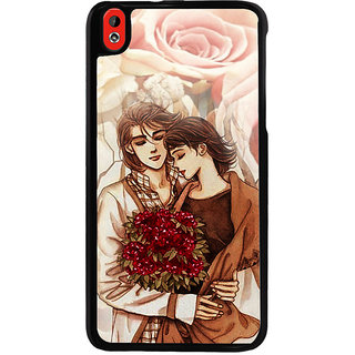 Ayaashii The Great Lovers Back Case Cover for HTC Desire 816::HTC Desire 816 G