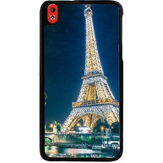 Ayaashii Eiffel Tower In Night View Back Case Cover for HTC Desire 816::HTC Desire 816 G