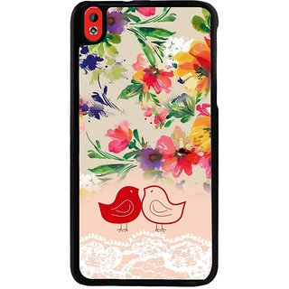 Ayaashii Two Chubbies Back Case Cover for HTC Desire 816::HTC Desire 816 G