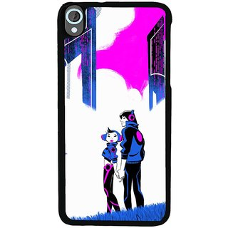 Ayaashii The Two Music Lovers Back Case Cover for HTC Desire 820::HTC Desire 820Q::HTC Desire 820S