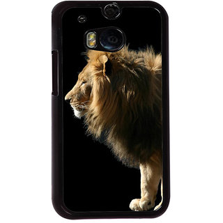 Ayaashii Lion In Angry Back Case Cover for HTC One M8::HTC M8