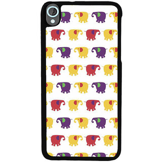 Ayaashii Elephant Pattern Back Case Cover for HTC Desire 820::HTC Desire 820Q::HTC Desire 820S