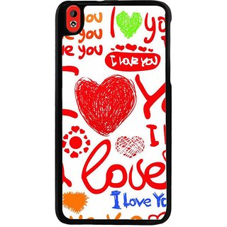 Ayaashii I Love You Forever Back Case Cover for HTC Desire 816::HTC Desire 816 G