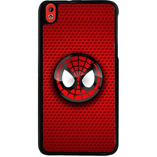 Ayaashii Spider Logo Back Case Cover for HTC Desire 816::HTC Desire 816 G
