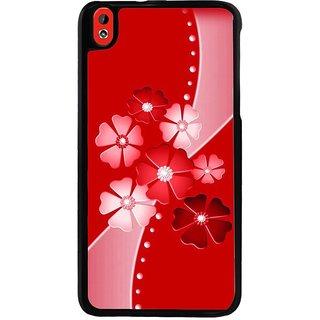 Ayaashii Flower Pattern Back Case Cover for HTC Desire 816::HTC Desire 816 G