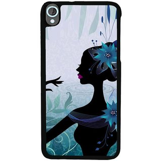 Ayaashii Girl In The Nature Back Case Cover for HTC Desire 820::HTC Desire 820Q::HTC Desire 820S
