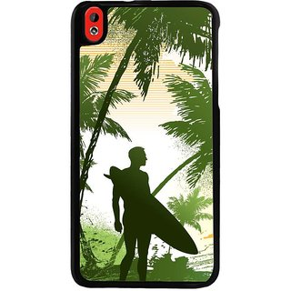 Ayaashii Greenish Sea Board Back Case Cover for HTC Desire 816::HTC Desire 816 G