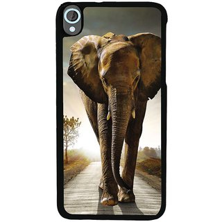 Ayaashii A Big Elephant On A Road Back Case Cover for HTC Desire 820::HTC Desire 820Q::HTC Desire 820S