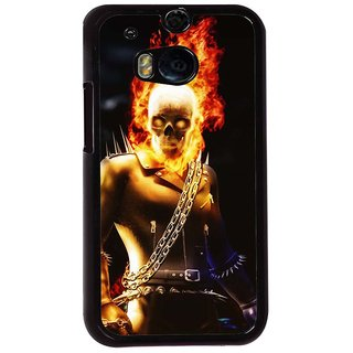 Ayaashii Road Rider Back Case Cover for HTC One M8::HTC M8