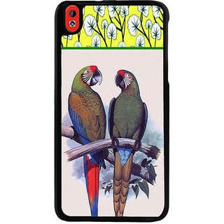 Ayaashii The Two Parrots Back Case Cover for HTC Desire 816::HTC Desire 816 G