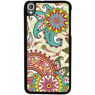 Ayaashii Tribal Pattern Back Case Cover for HTC Desire 820::HTC Desire 820Q::HTC Desire 820S