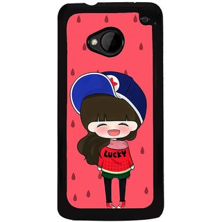 Ayaashii Girl Is Souting Loudly Back Case Cover for HTC One M7::HTC M7