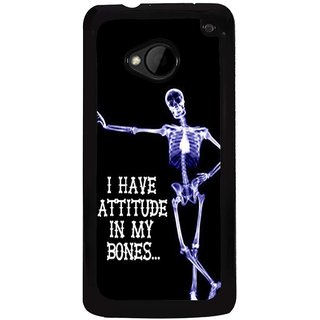 Ayaashii I Have Attitude In My Bones Back Case Cover for HTC One M7::HTC M7