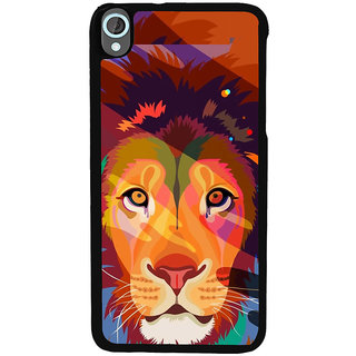 Ayaashii Sketch Of Tiger Back Case Cover for HTC Desire 820::HTC Desire 820Q::HTC Desire 820S