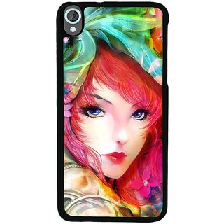 Ayaashii Girl is too Glorious Back Case Cover for HTC Desire 820::HTC Desire 820Q::HTC Desire 820S