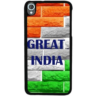 Ayaashii Great India Back Case Cover for HTC Desire 820::HTC Desire 820Q::HTC Desire 820S