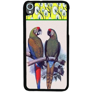 Ayaashii The Two Parrots Back Case Cover for HTC Desire 820::HTC Desire 820Q::HTC Desire 820S