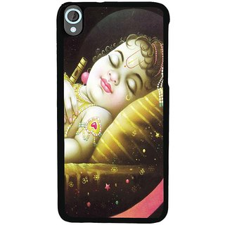 Ayaashii Sleeping Krishna Back Case Cover for HTC Desire 820::HTC Desire 820Q::HTC Desire 820S