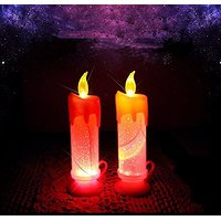 Colors Changing Candle Light For Diwali Christmas Wedding Party Holiday Decoration