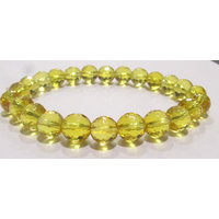 Faceted Citrine Bracelet For Financial Luck- Beautiful Beads