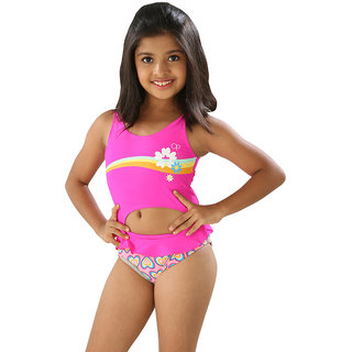 Stunning Two Pieces Set For Girls- Tankini