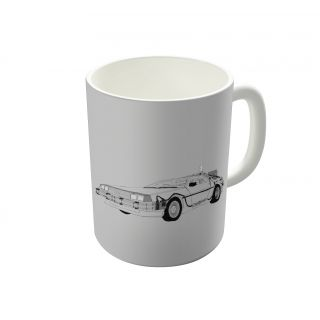 Dreambolic Delorean Coffee Mug-DBCM21244