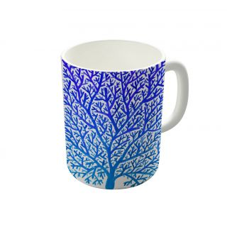 Dreambolic Fan Coral Blue Coffee Mug-DBCM21347