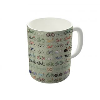 Dreambolic Fifty Bicycles Coffee Mug-DBCM21365